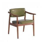 바롬 그린원목의자